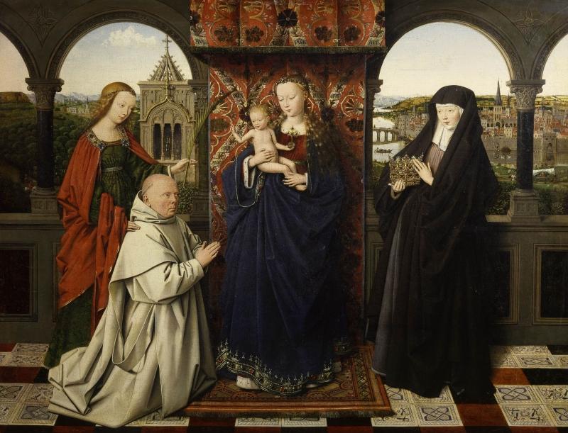 Van Eyck, Frick Collection
