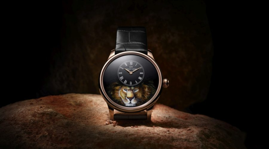 Petite Heure Minute by Jaquet Droz.