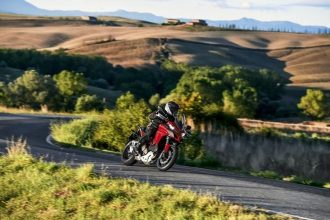 Motorcycle in Tuscany