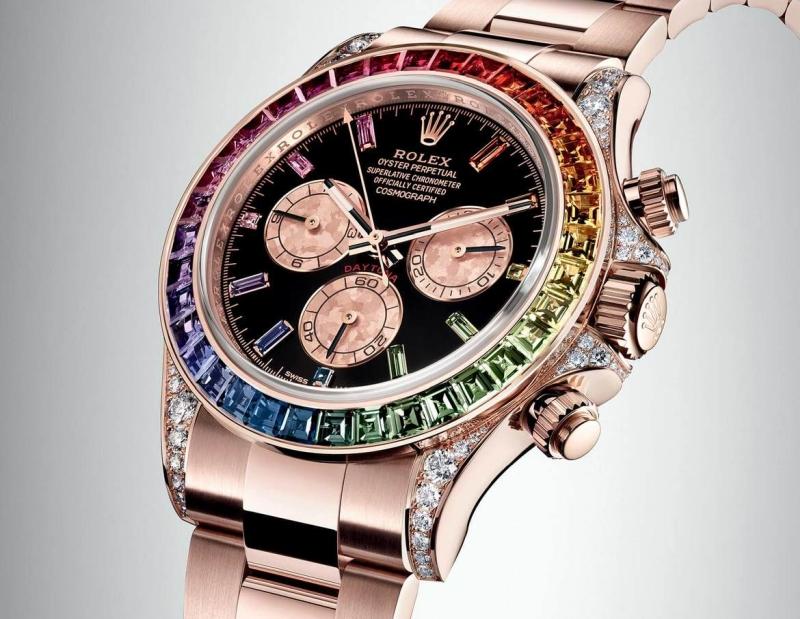 Rolex Cosmograph Rainbow Daytona Everose