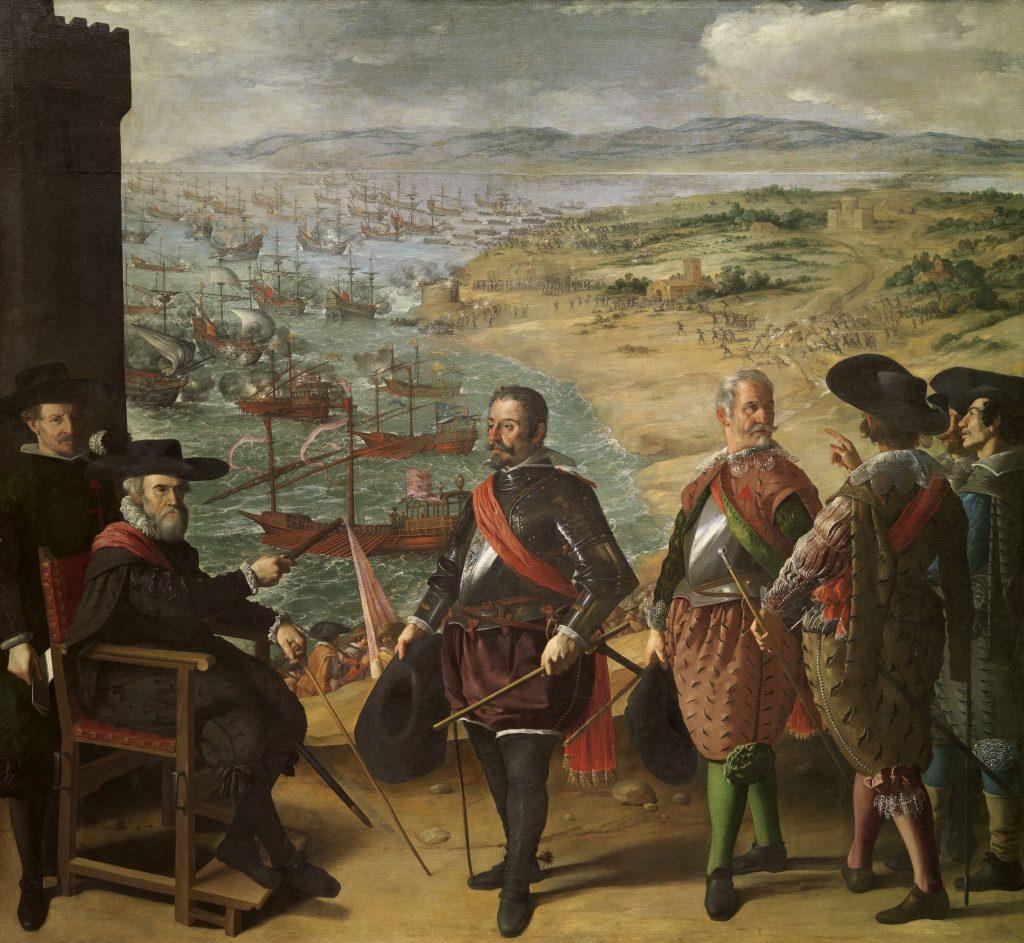 Francisco de Zurbarán - Apărarea Cadiz-ului împotriva englezilor