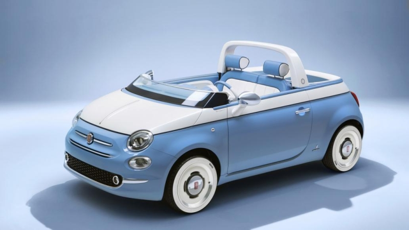 Fiat 500C Spiaggina'58