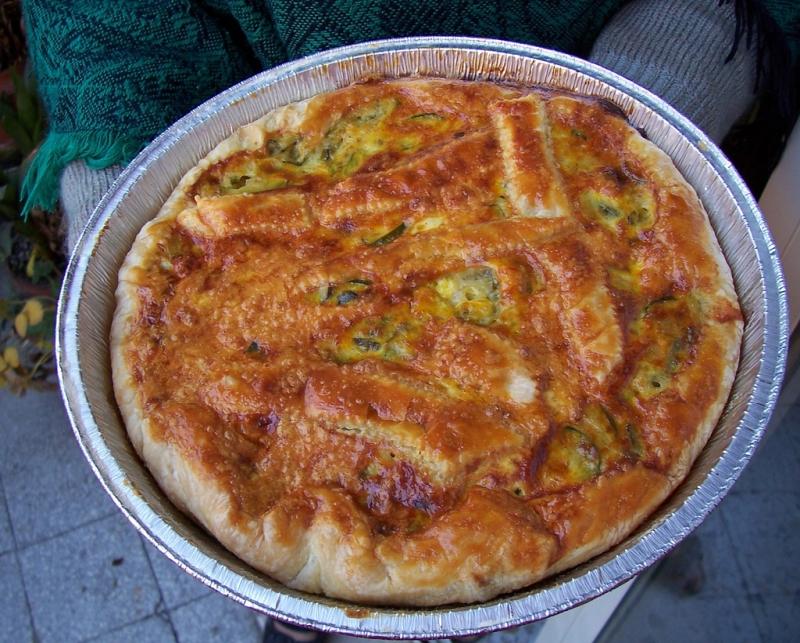 Toscana, Plăcintă Scarpaccia cu zucchini