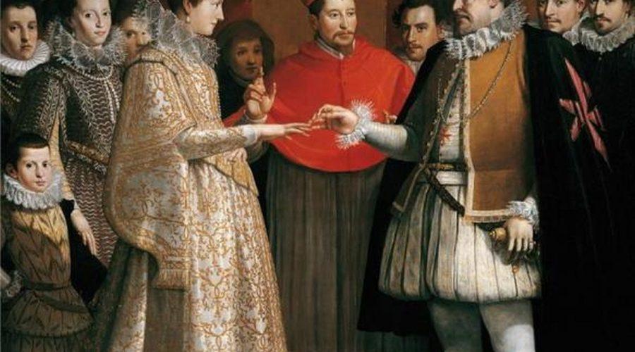 Jacopo di Chimenti da Empoli si Maria de Medici