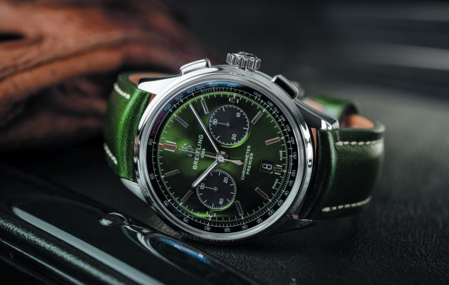 Bentley - Breitling Premier B01 Chronograph 42 Bentley British Racing Green