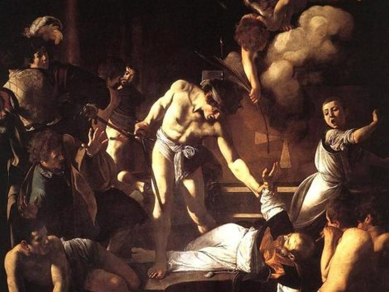 Caravaggio - Martiriul Sfântului Matei