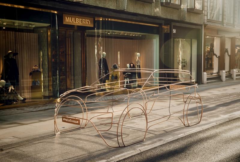 Range Rover Evoque campaign