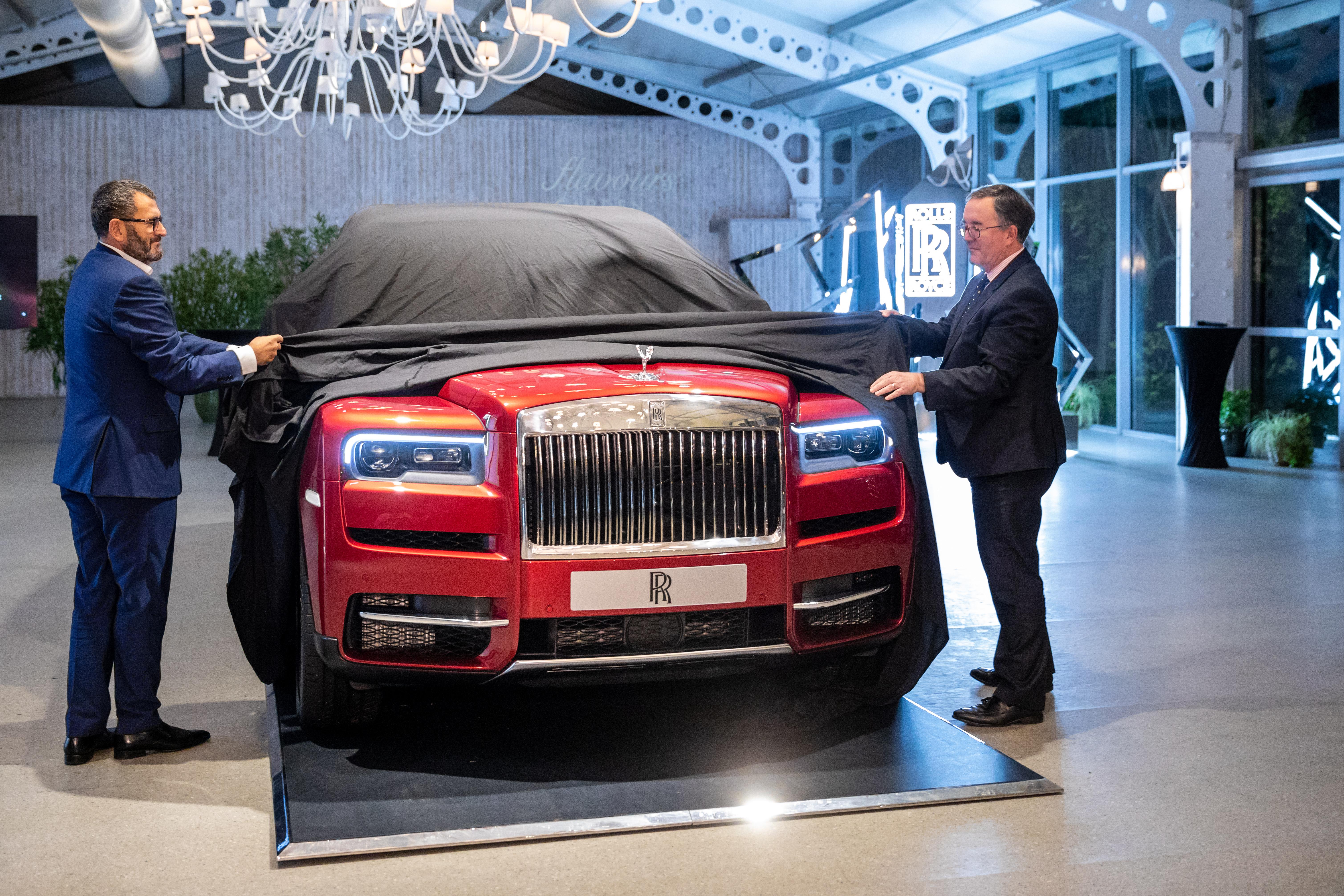 Lansare Rolls-Royce Cullinan