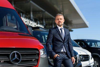 Batiste Pascalin - Mercedes-Benz Vans România