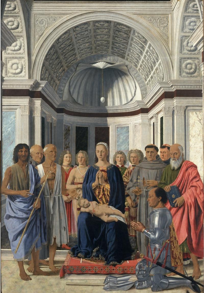 Piero de' Francesca - Altarul din Brera