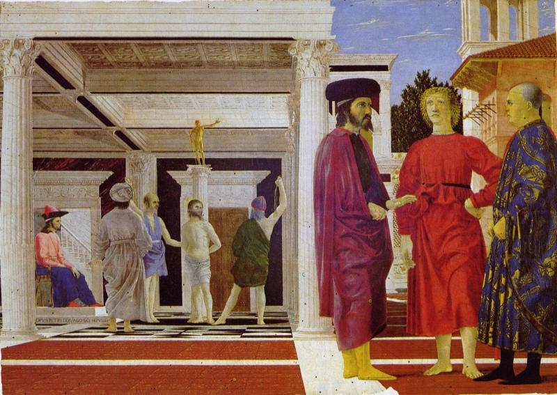 Piero de' Francesca - Biciuirea lui Christos