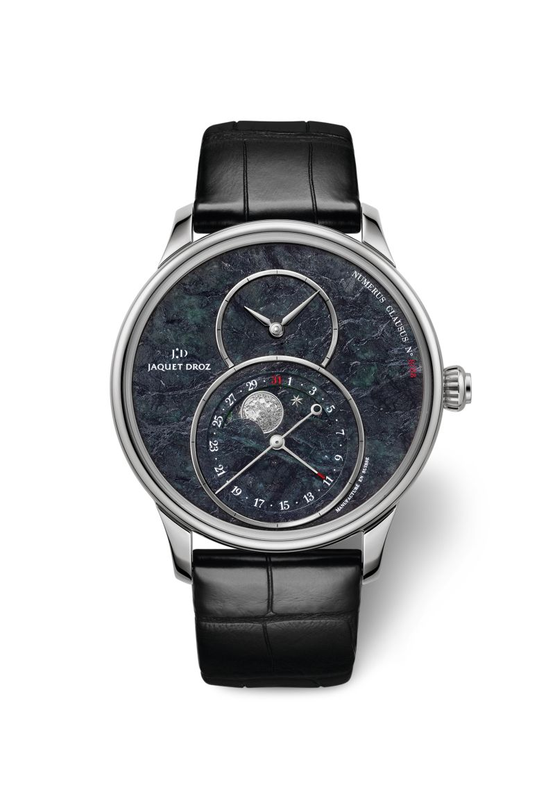 Jaquet Droz - Grande Seconde Moon Swiss Serpentinite