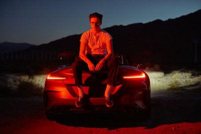 Brooklyn Beckham & BMW Z4