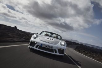 New Porsche 911 Speedster